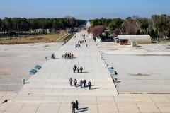 Ludzie wizyt ruin antyczny Persepolis Obraz Royalty Free
