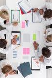 ludzie wykresów przedsiębiorstw Zdjęcie Royalty Free