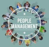 Ludzie zarządzania Manpower zajęcia pracownika pojęcia Zdjęcia Stock
