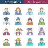 Ludzie zawodów i zajęcia royalty ilustracja