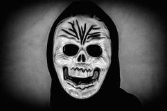 Ludzka czaszki maska obrazy royalty free