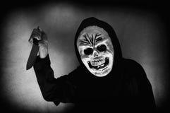 Ludzka czaszki maska zdjęcie stock