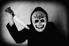 Ludzka czaszki maska obrazy stock