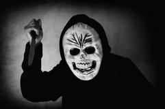Ludzka czaszki maska zdjęcia royalty free