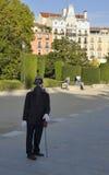Ludzka statua bez twarzy Obraz Stock
