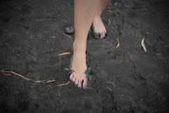 Ludzka stopa zdjęcia stock