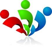 ludzki logo rgb ilustracja wektor