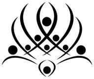 Ludzki lotos Obraz Royalty Free