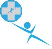 Ludzki opieka logo Obraz Stock