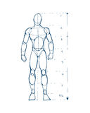 Ludzki postać d ilustracja wektor