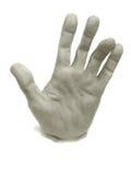 ludzki ręka tynk Fotografia Royalty Free
