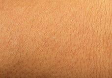 Ludzki skóry tło Fotografia Royalty Free