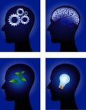ludzki umysł Fotografia Stock