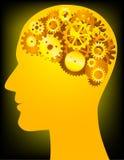 ludzki umysł Obrazy Royalty Free
