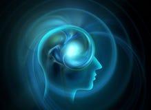Ludzki umysł Fotografia Royalty Free