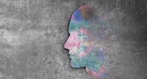 Ludzki umys? ilustracji
