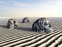 Ludzkie czaszki Obraz Royalty Free