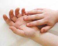 Ludzkie ręki są jeden ekspresyjne części ciałe fotografia royalty free