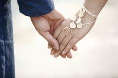 ludzkie ręce Fotografia Royalty Free
