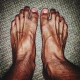 ludzkiej nogi Obraz Royalty Free