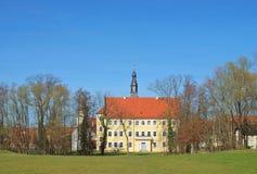 Luebben城堡 免版税库存照片