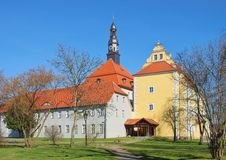 Luebben城堡 库存照片