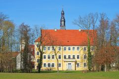 Luebben castle Royalty Free Stock Photography