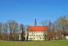 Luebben castle Royalty Free Stock Photo