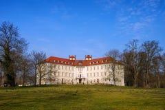 Luebbenau castle in Brandenburg Royalty Free Stock Photo