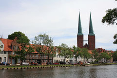 Luebeck architecture Stock Image
