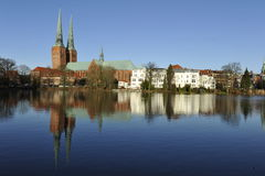 Luebeck, Cathedral Royalty Free Stock Photography