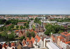 Luebeck city Royalty Free Stock Photography
