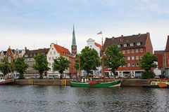 Luebeck city Royalty Free Stock Images
