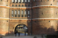 Luebeck, Holstentor Gate Royalty Free Stock Photos