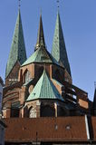Luebeck, Marienkirche (St. Mary's Church) Royalty Free Stock Images