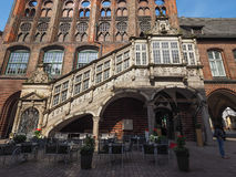Luebeck Rathaus city hall Royalty Free Stock Photo