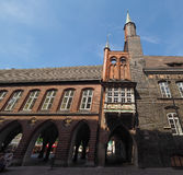 Luebeck Rathaus city hall Stock Photo