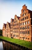 Luebeck - Tyskland arkivbilder