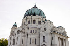Luegerkirche Vienna Central Cemetery Royalty Free Stock Image
