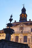 Lueneburg - Town hall in the evening Royalty Free Stock Image