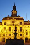 Lueneburg - Town hall in the evening Stock Image