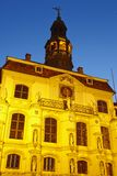 Lueneburg - Town hall in the evening Royalty Free Stock Images