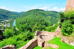 Luetzelburg Castle Royalty Free Stock Photography