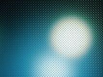 Lueur bleue Photographie stock libre de droits