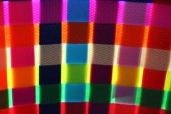 Lueur colorée de vannerie Images libres de droits