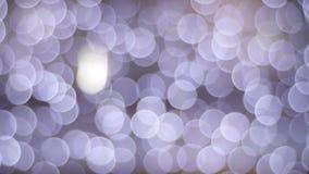 Lueur d'éclairage de Noël banque de vidéos