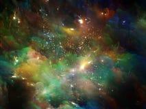 Lueur d'univers Images libres de droits