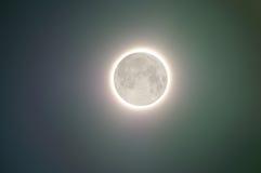Lueur de pleine lune Photos stock