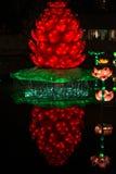 Lueur Dubaï, EAU de jardin Image libre de droits