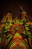Lueur Eindhoven Photographie stock libre de droits